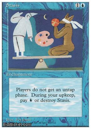 Stasis,4th Edition, Magic the Gathering