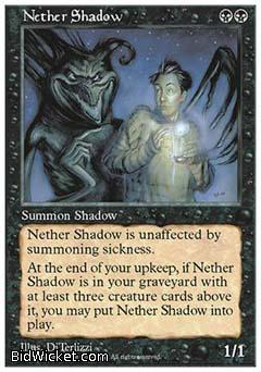 Nether Shadow, 5th Edition, Magic the Gathering