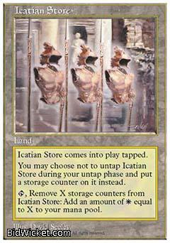 Icatian Store, 5th Edition, Magic the Gathering