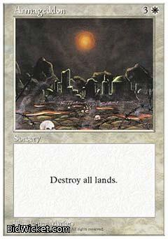 Armageddon, 5th Edition, Magic the Gathering