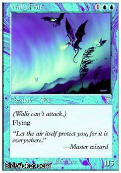 Wall of Air, 7th Edition, Magic the Gathering
