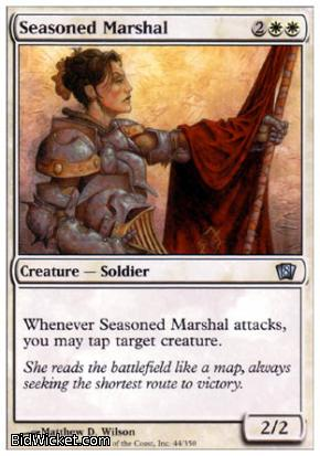 Seasoned Marshal, 8th Edition, Magic the Gathering