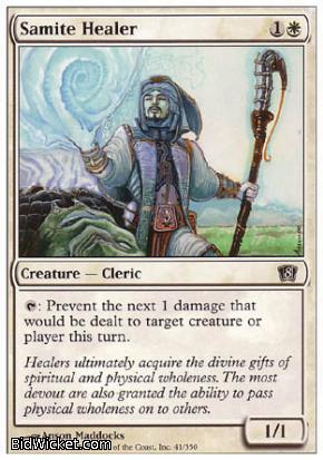Samite Healer, 8th Edition, Magic the Gathering