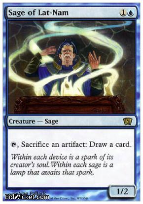 Sage of Lat-Nam, 8th Edition, Magic the Gathering