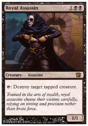 Royal Assassin, 8th Edition, Magic the Gathering