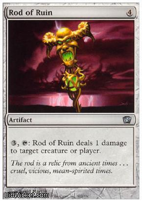 Rod of Ruin, 8th Edition, Magic the Gathering
