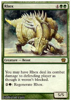 Rhox, 8th Edition, Magic the Gathering