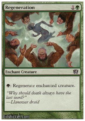Regeneration, 8th Edition, Magic the Gathering