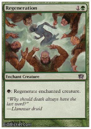 Regeneration, 8th Edition, Magic the Gathering