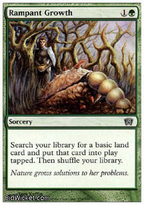 Rampant Growth, 8th Edition, Magic the Gathering