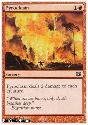 Pyroclasm, 8th Edition, Magic the Gathering