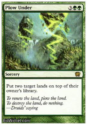 Plow Under, 8th Edition, Magic the Gathering