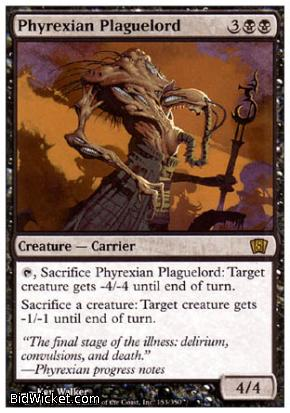 Phyrexian Plaguelord, 8th Edition, Magic the Gathering