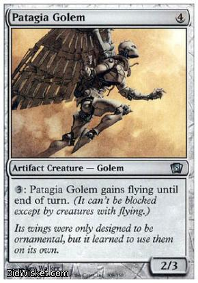 Patagia Golem, 8th Edition, Magic the Gathering