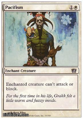 Pacifism, 8th Edition, Magic the Gathering