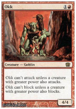 Okk, 8th Edition, Magic the Gathering