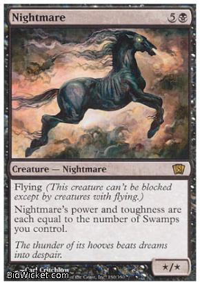 Nightmare, 8th Edition, Magic the Gathering