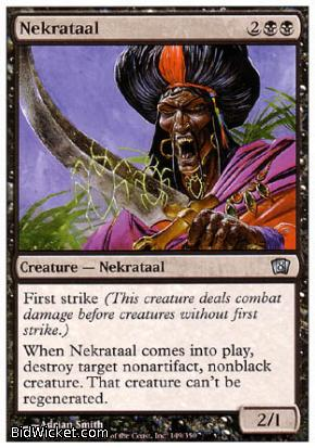 Nekrataal, 8th Edition, Magic the Gathering