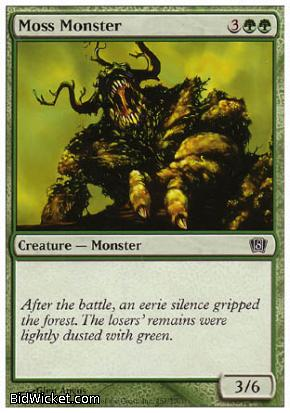 Moss Monster, 8th Edition, Magic the Gathering