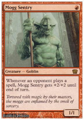 Mogg Sentry, 8th Edition, Magic the Gathering