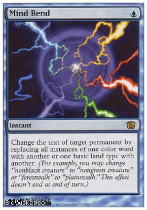 Mind Bend, 8th Edition, Magic the Gathering