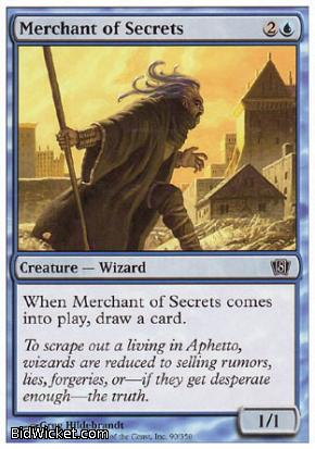 Merchant of Secrets, 8th Edition, Magic the Gathering