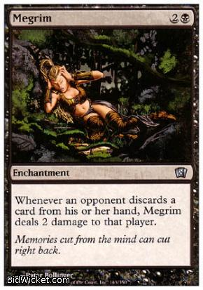 Megrim, 8th Edition, Magic the Gathering