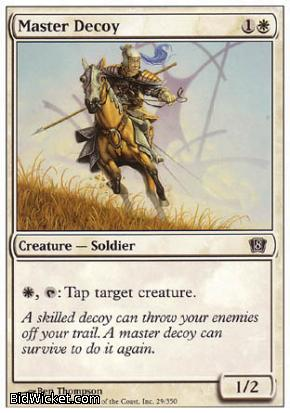 Master Decoy, 8th Edition, Magic the Gathering