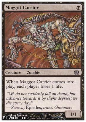 Maggot Carrier, 8th Edition, Magic the Gathering