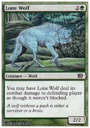Lone Wolf, 8th Edition, Magic the Gathering