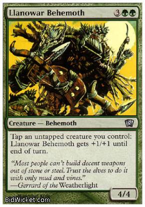 Llanowar Behemoth, 8th Edition, Magic the Gathering