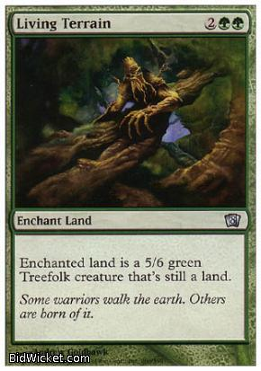 Living Terrain, 8th Edition, Magic the Gathering
