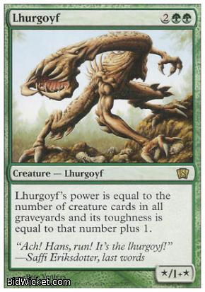 Lhurgoyf, 8th Edition, Magic the Gathering