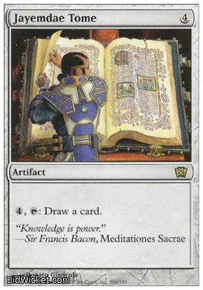 Jayemdae Tome, 8th Edition, Magic the Gathering