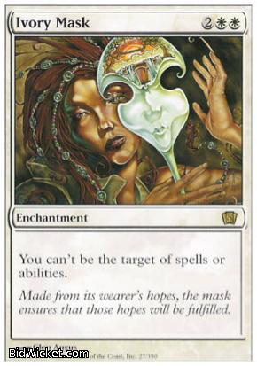 Ivory Mask, 8th Edition, Magic the Gathering