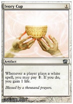 Ivory Cup, 8th Edition, Magic the Gathering