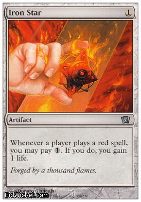 Iron Star, 8th Edition, Magic the Gathering