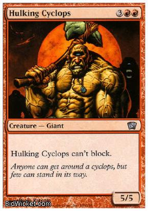 Hulking Cyclops, 8th Edition, Magic the Gathering