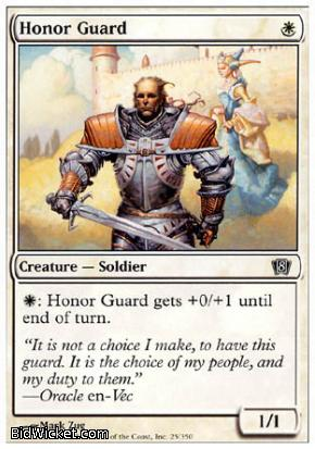Honor Guard, 8th Edition, Magic the Gathering