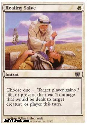 Healing Salve, 8th Edition, Magic the Gathering