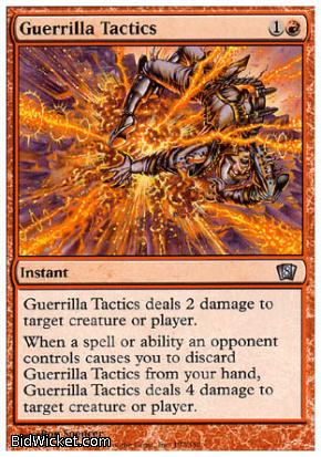 Guerrilla Tactics, 8th Edition, Magic the Gathering