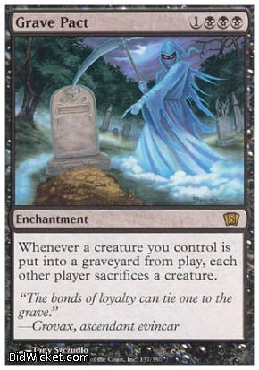 Grave Pact, 8th Edition, Magic the Gathering