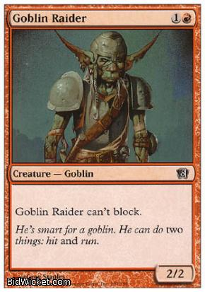 Goblin Raider, 8th Edition, Magic the Gathering