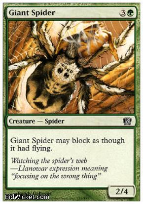 Giant Spider, 8th Edition, Magic the Gathering