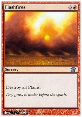 Flashfires, 8th Edition, Magic the Gathering