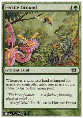 Fertile Ground, 8th Edition, Magic the Gathering