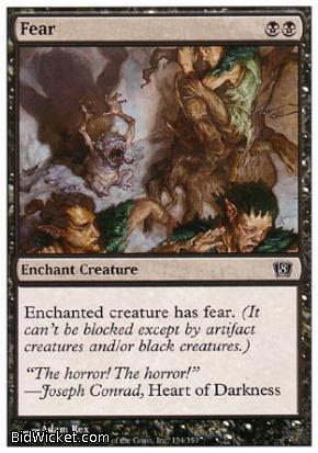 Fear, 8th Edition, Magic the Gathering