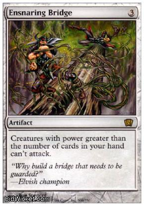 Ensnaring Bridge, 8th Edition, Magic the Gathering