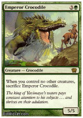 Emperor Crocodile, 8th Edition, Magic the Gathering