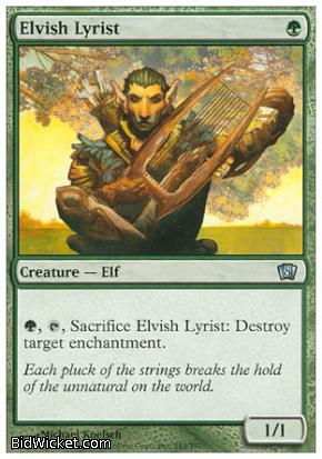 Elvish Lyrist, 8th Edition, Magic the Gathering